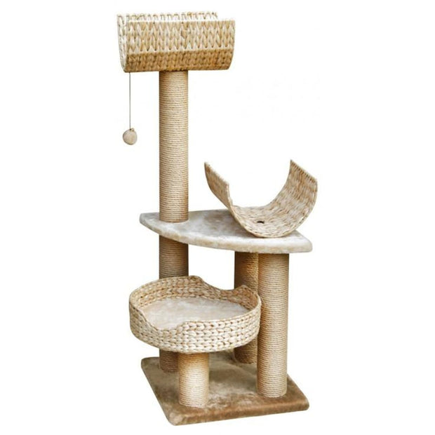 Fauna Palucco Cat Play Tower - Cat Toys