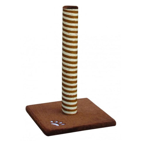 Fauna Relax Classic Cat Pole - Beige/Brown - Cat Toys