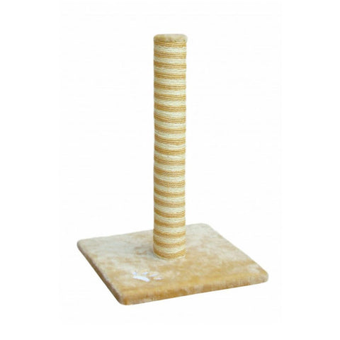 Fauna Relax Classic Cat Pole - Beige/White - Cat Toys