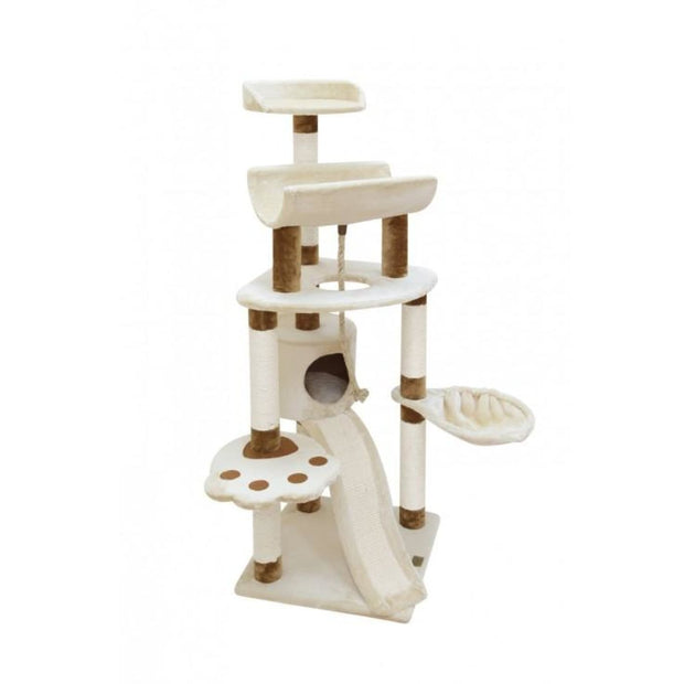 Fauna Shantal Cat Play Tower - Cat Toys