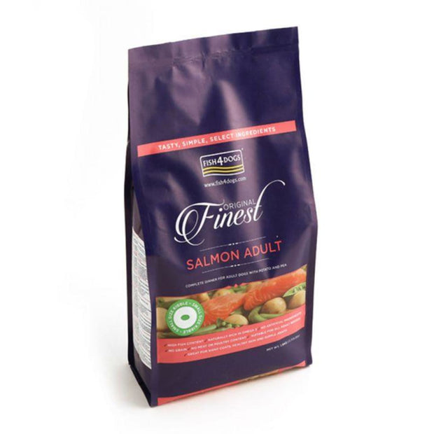 Fish4Dogs Finest Salmon (Small 1cm Kibble) - 1.5kg - Dog