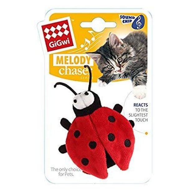 GiGwi Beetle-Bug Melody Chaser - Cat Toys