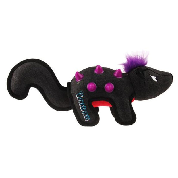 GiGwi Duraspikes Extra Durable Racoon Grey - Dog Toys