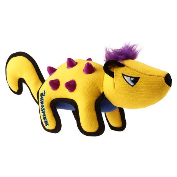GiGwi Duraspikes Extra Durable Racoon Yellow - Dog Toys