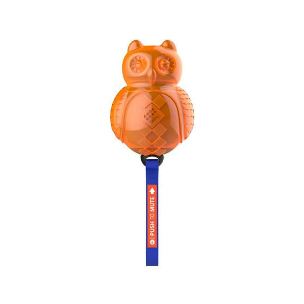 GiGwi Push to Mute Owl - Dog Toys