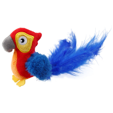 GiGwi Quarking Red Parrot Melody Chaser - Cat Toys