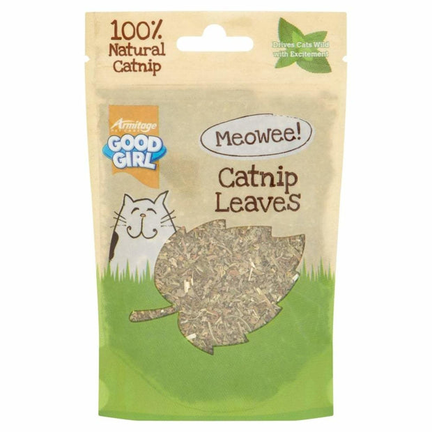 GoodGirl Catnip Leaves - Cat Treats
