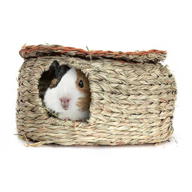 Guinea Pig Reed Hut - Cages & Accessories