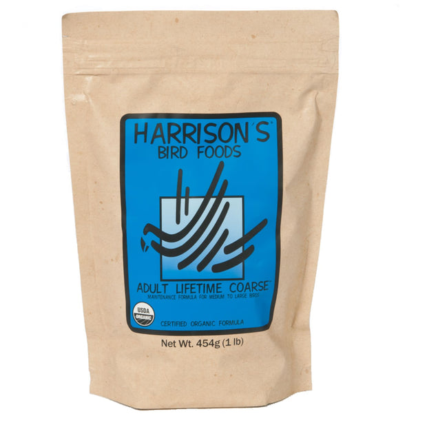 Harrison's Adult Lifetime Coarse - 453g - Bird Food