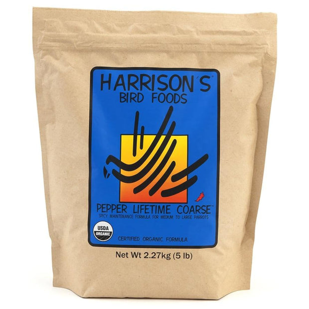 Harrison's Pepper Lifetime Coarse - 2.27kg - bird food