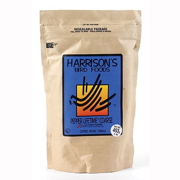 Harrison's Pepper Lifetime Coarse - 453g - bird food