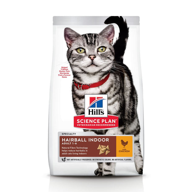 Hill's Science Plan Adult Cat Hairball Indoor Control with