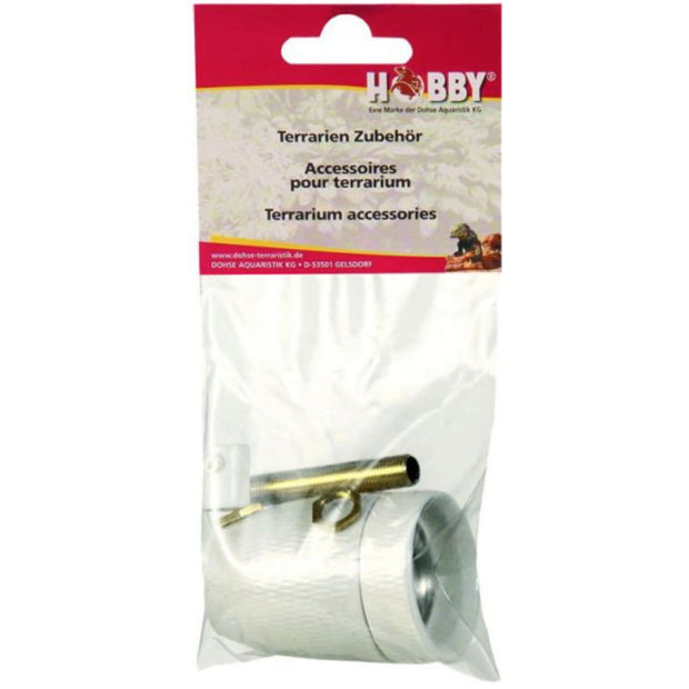 Hobby Porcelain Socket E27 - Brass Thread - Reptile Homes