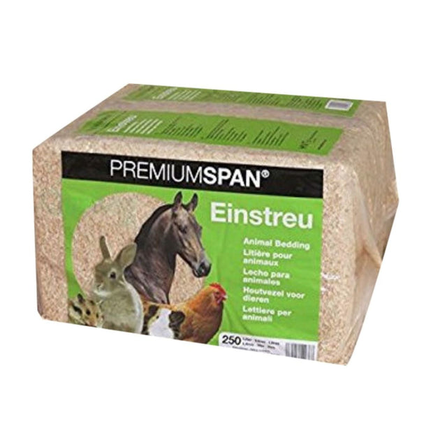 HVT PremiumSpan Bedding Natural (250L) - Cages & Accessories