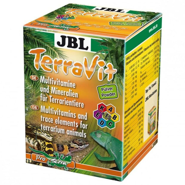 JBL TerraVit - Reptile Food & Health