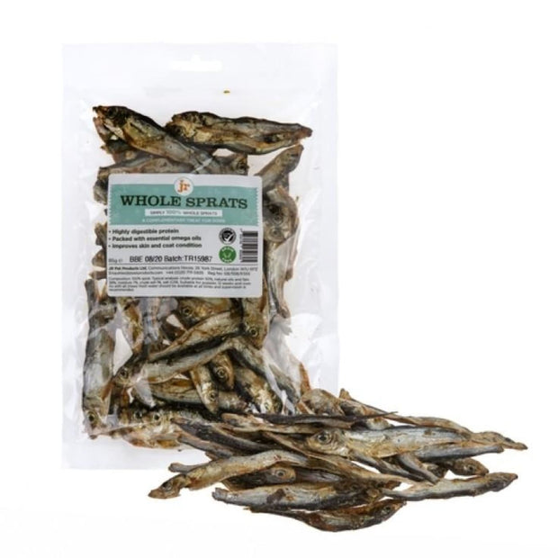 JR Pet Dried Whole Sprats 85g - Dog Treats