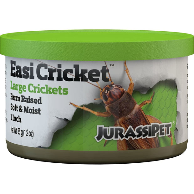 JurassiDiet EasiCricket - Reptile Food & Health