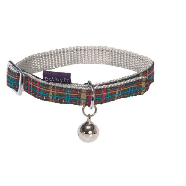 Kilt Cat Collar - Maroon - Cat Collars & Tags