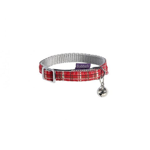 Kilt Cat Collar - Red - Cat Collars & Tags