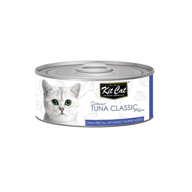 Kit Cat Super Premium Deboned Classic Tuna (80g) - Cat Food