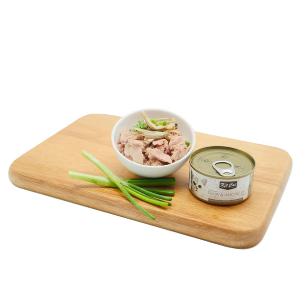 Kit Cat Super Premium Deboned Tuna and Anchovy (80g) - Cat