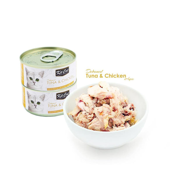Kit Cat Super Premium Deboned Tuna and Chicken (80g) - Cat