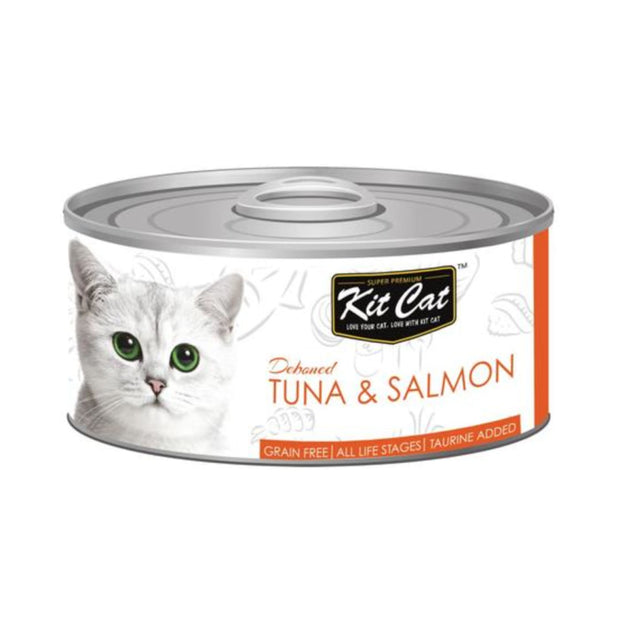 Kit Cat Super Premium Deboned Tuna and Salmon (80g) - Cat