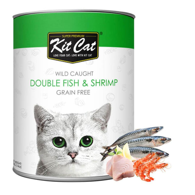Kit Cat Wild Caught Double Fish & Shrimp Grain Free Loaf