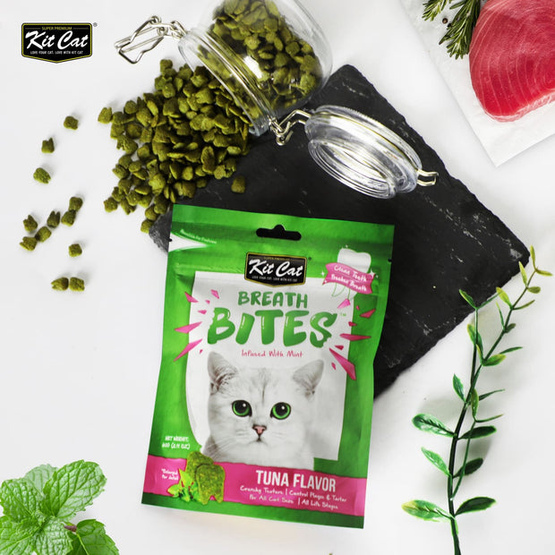 KitCat Breath Bites - Tuna - Cat Treats