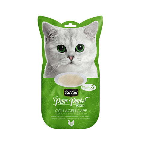 KitCat Purr Puree Plus+ Collagen Care - Chicken - Cat Treats