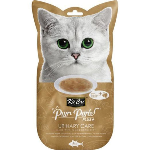 KitCat Purr Puree Plus+ Tuna & Cranberry for Urinary Care -