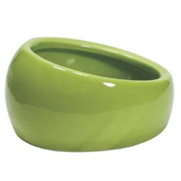 Living World Ergonomic Dish - Green - Bowls & Bottles