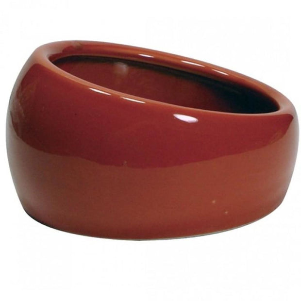 Living World Ergonomic Dish - Terracotta - Bowls & Bottles