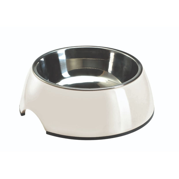 Melamine Feeding Bowl - White - Dog Bowls & Feeders