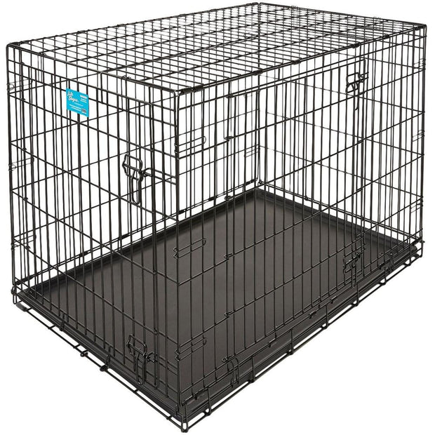 MidWest Life Stages Double Door Dog Crate - XX-Small - Beds