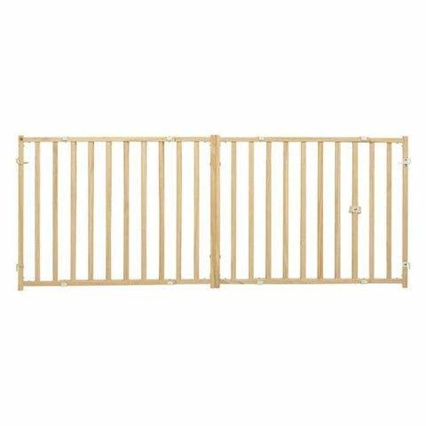MidWest Pinewood Extra-Wide Pet Gate - Beds Crates &