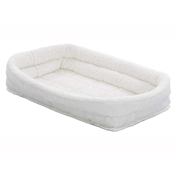 MidWest Quiet Time Deluxe Fleece Bolster Bed - Beds Crates &