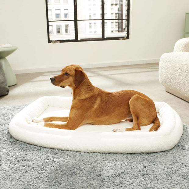 MidWest Quiet Time Deluxe Fleece Bolster Bed - X-Large -