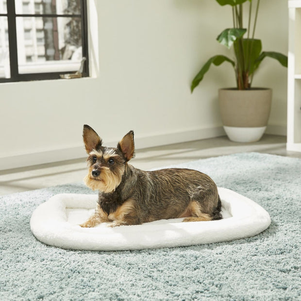 MidWest Quiet Time Deluxe Fleece Bolster Bed - Small - Beds