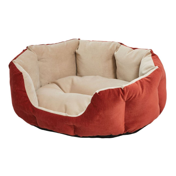 MidWest Quiet Time Deluxe Tulip Bed - Red - Small - Beds