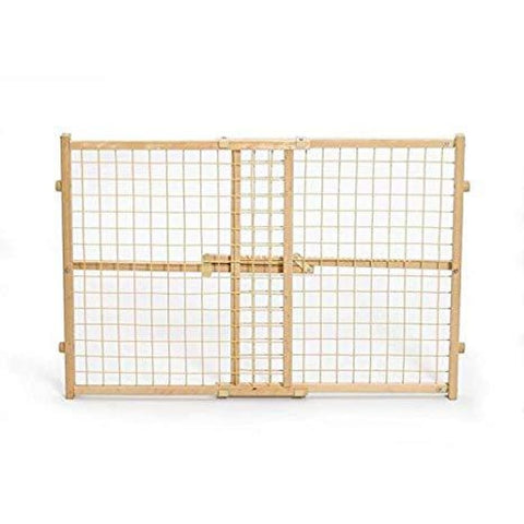 MidWest Wood & Mesh Pet Gate - Beds Crates & Outdoors