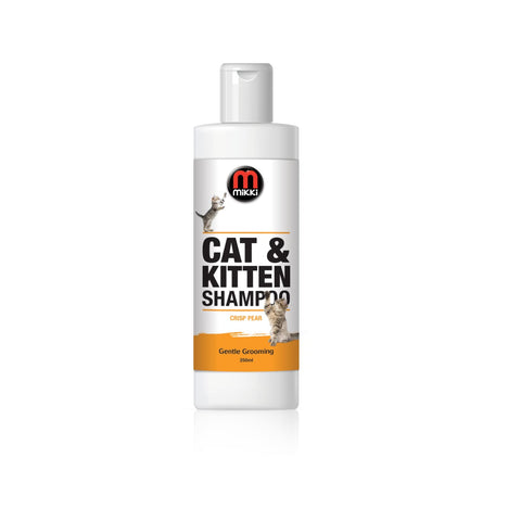 Mikki Cat & Kitten Shampoo - Crisp Pear - Coat & Skin Care
