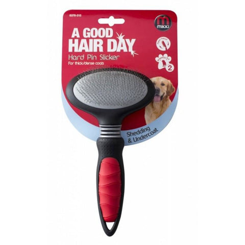Mikki Hard Pin Slicker - Grooming Tools