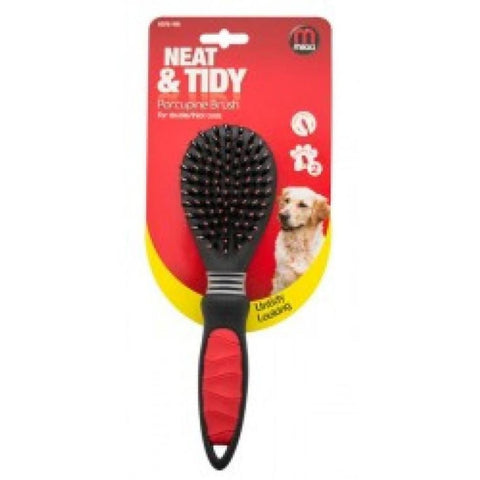 Mikki Porcupine Brush for Thick Coats - Grooming Tools