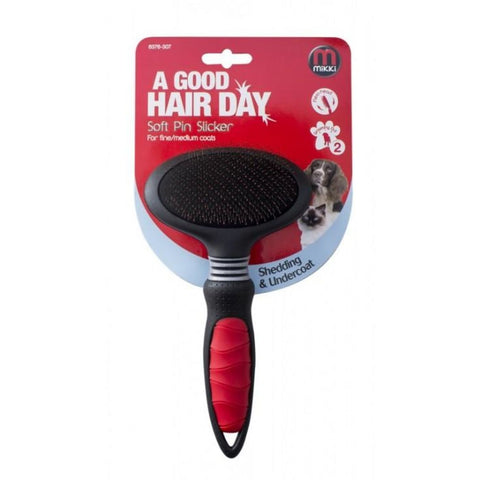 Mikki Soft Pin Slicker - Grooming Tools