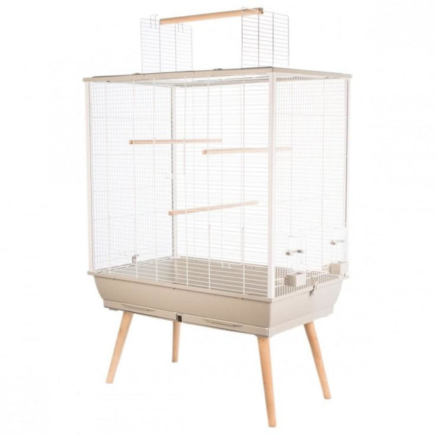 Neo Large Bird Cage by Zolux - Beige - Bird Cages & Homes