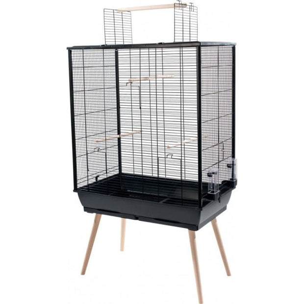 Neo XL Bird Cage by Zolux - Black - Bird Cages & Homes