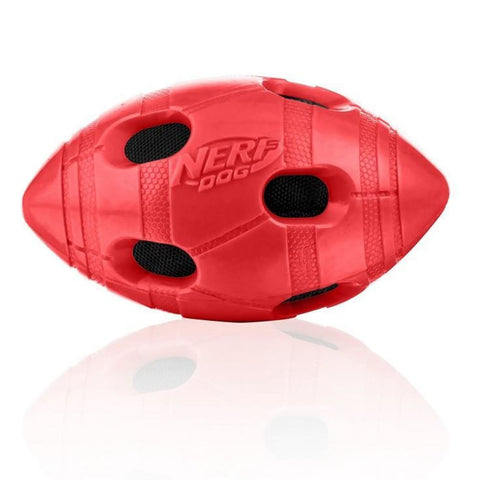 Nerf Dog Crunch Bash Football - Dog Toys