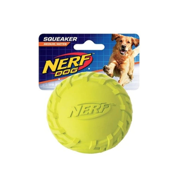 Nerf Dog Tire Squeak Ball - Dog Toys