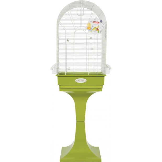 Noemie Arabesque Bird Cage by Zolux - Olive - Bird Cages &